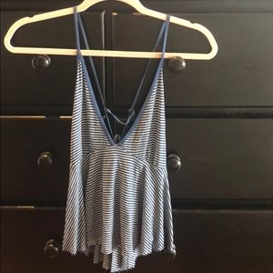 Urban Outfitters striped tank top